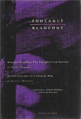 Foucault / Blanchot als Buch