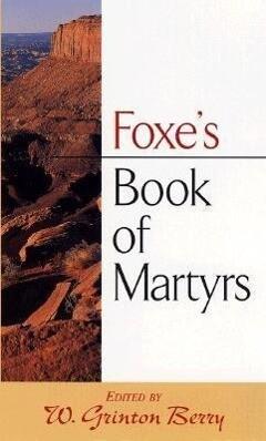Foxe's Book of Martyrs als Taschenbuch