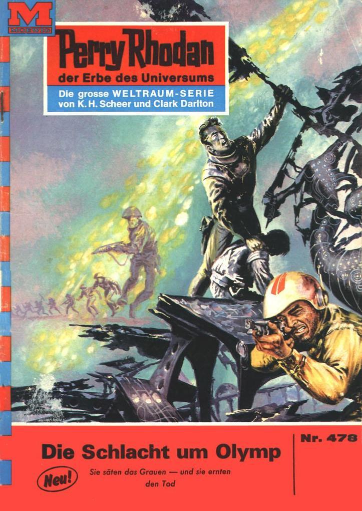 Perry Rhodan 478: Die Schlacht um Olymp