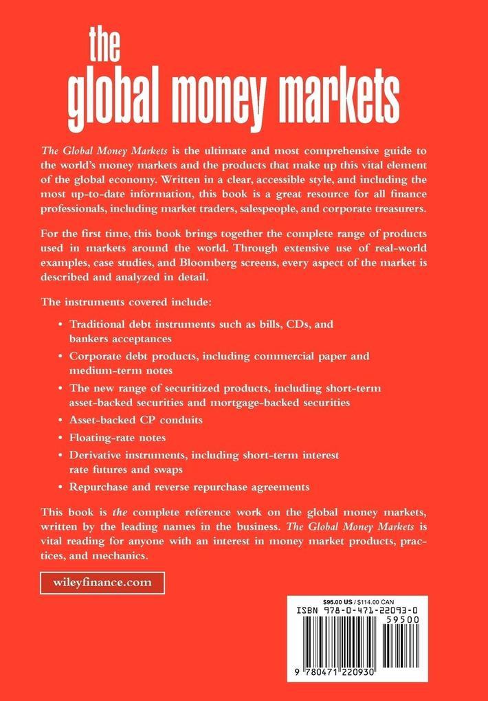 The Global Money Markets als Buch