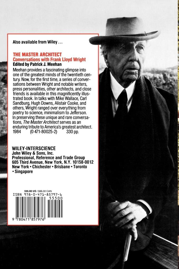 Frank Lloyd Wright: His Life and His Architecture als Taschenbuch