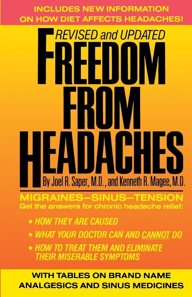 Freedom from Headaches als Taschenbuch