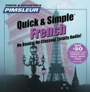 Pimsleur French Quick & Simple Course - Level 1 Lessons 1-8 CD: Learn to Speak and Understand French with Pimsleur Language Programs als Hörbuch