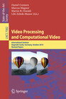 Video Processing and Computational Video