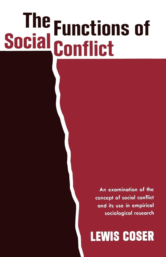 The Functions of Social Conflict als Buch
