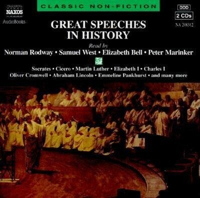 Great Speeches in History als Hörbuch