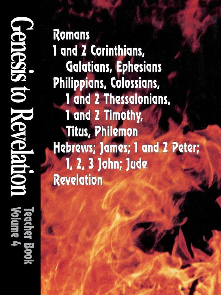 Genesis to Revelation Volume 4 als Taschenbuch
