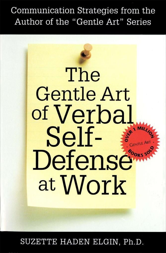 The Gentle Art of Verbal Self Defense at Work als Taschenbuch