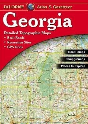 Georgia - Delorme2nd als Taschenbuch