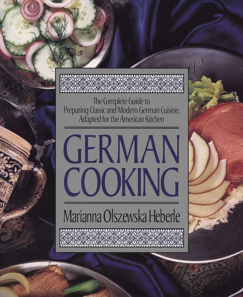 German Cooking als Taschenbuch
