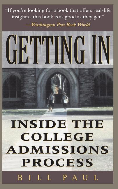 Getting in: Inside the College Admissions Process als Taschenbuch