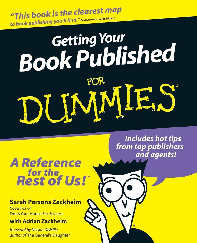 Getting Your Book Published for Dummies als Taschenbuch
