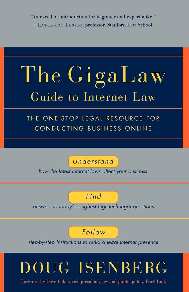 The Gigalaw Guide to Internet Law als Taschenbuch