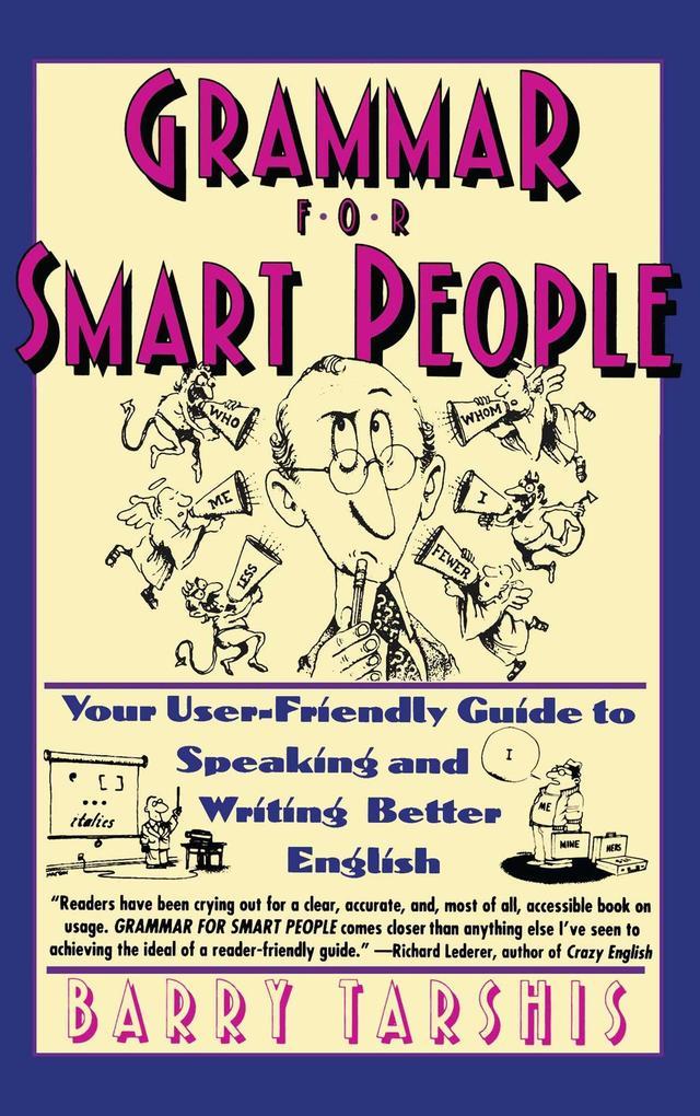 Grammar for Smart People als Taschenbuch