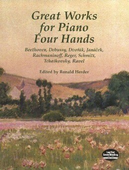 Great Works for Piano Four Hands als Taschenbuch