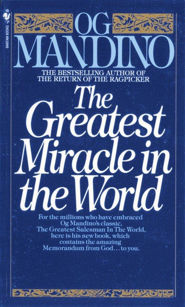 The Greatest Miracle in the World als Taschenbuch