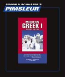 Pimsleur Greek (Modern) Level 1 CD: Learn to Speak and Understand Modern Greek with Pimsleur Language Programs als Hörbuch