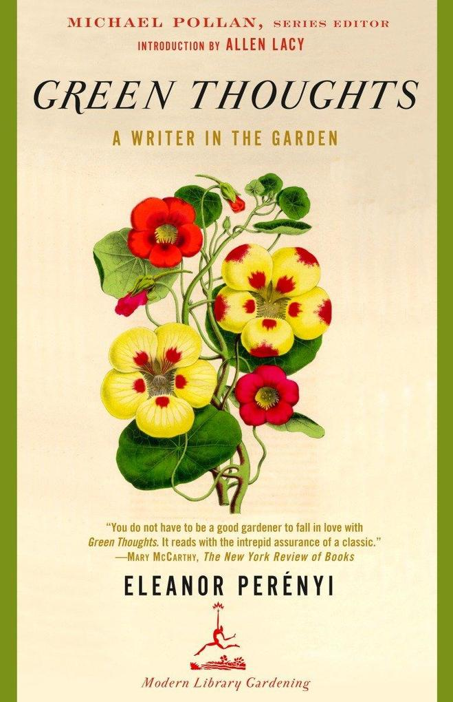 Green Thoughts: A Writer in the Garden als Taschenbuch