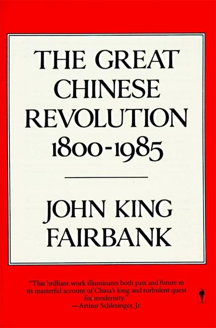 The Great Chinese Revolution: 1800-1985 als Taschenbuch