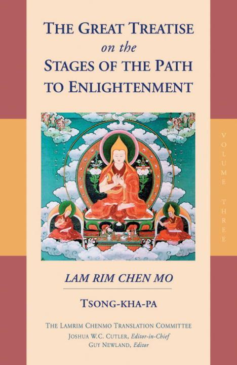 The Great Treatise On The Stages Of The Path To Enlightenment Vol 3 als Buch