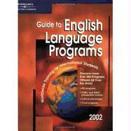 English Language Programs 2002, Guide to als Taschenbuch