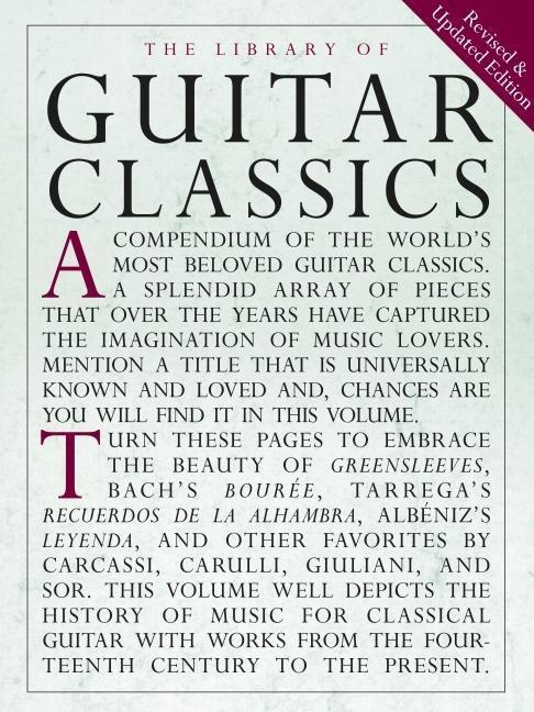 Library of Guitar Classics als Taschenbuch