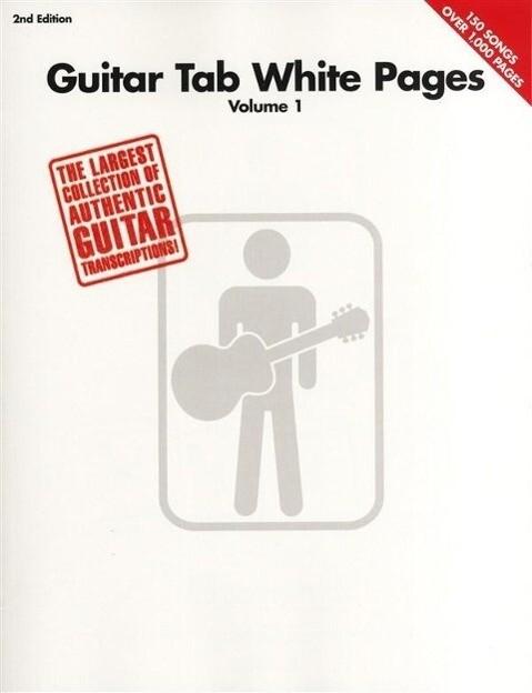 Guitar Tab White Pages - 2nd Edition als Taschenbuch