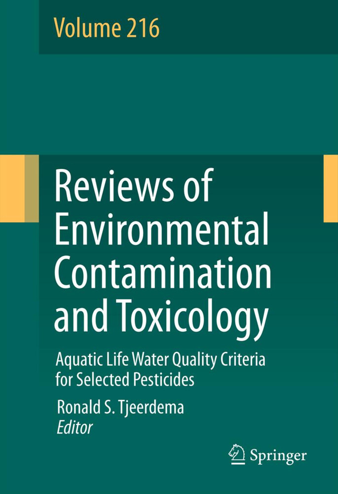 Reviews of Environmental Contamination and Toxicology als Buch von