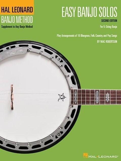 Easy Banjo Solos: For 5-String Banjo als Taschenbuch