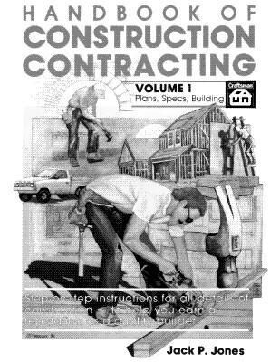 Handbook of Construction Contracting Vol 1 als Taschenbuch