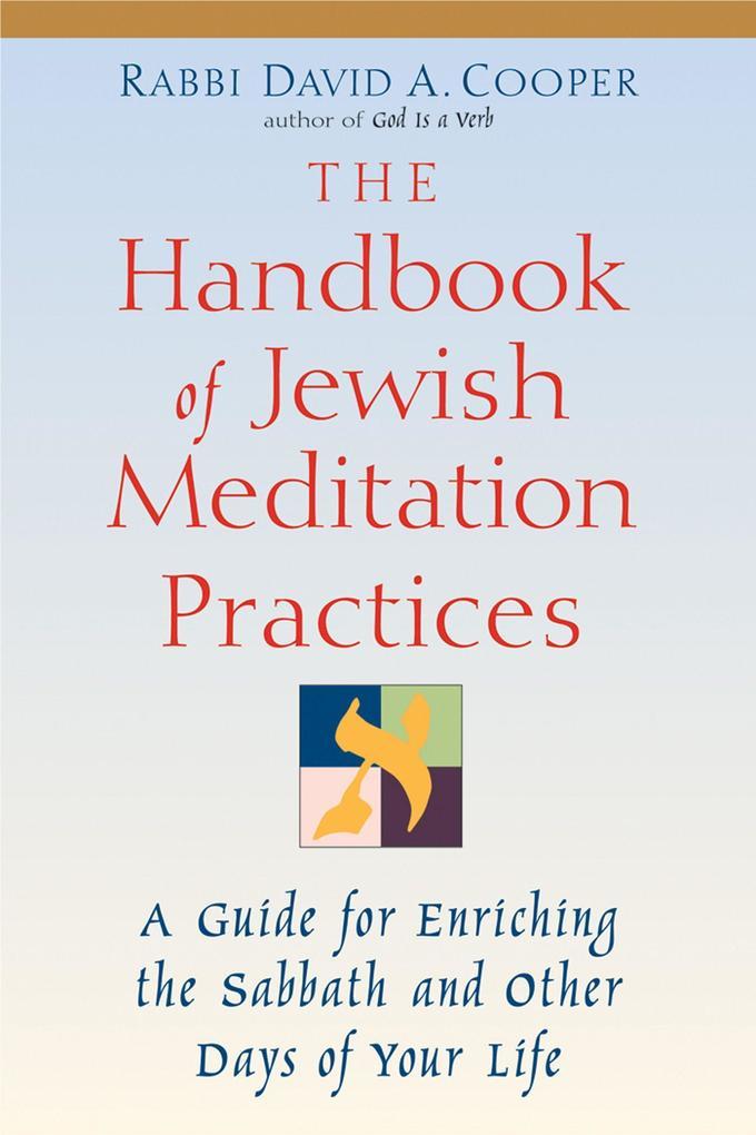 The Handbook of Jewish Meditation Practices als Taschenbuch