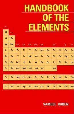 Handbook of the Elements als Taschenbuch