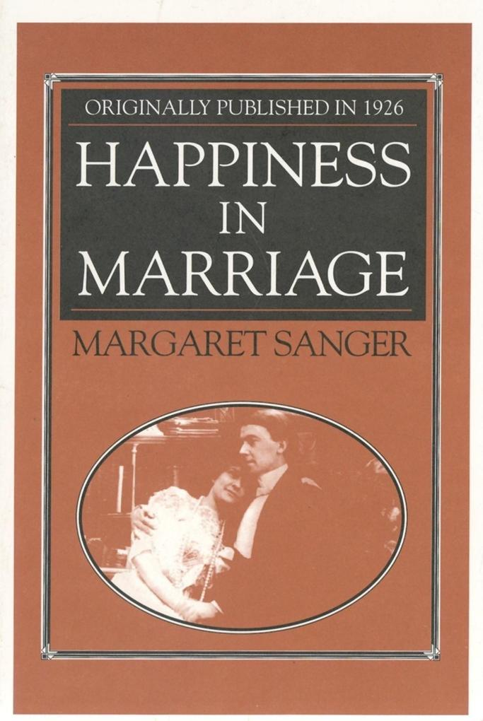 Happiness in Marriage als Taschenbuch