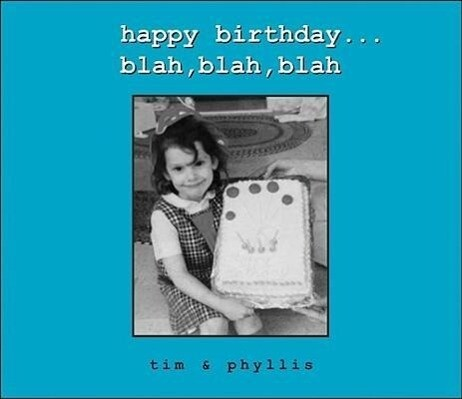 Happy Birthday...Blah, Blah, Blah als Buch