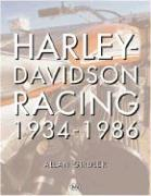Harley-Davidson Racing 1934-1986 als Buch
