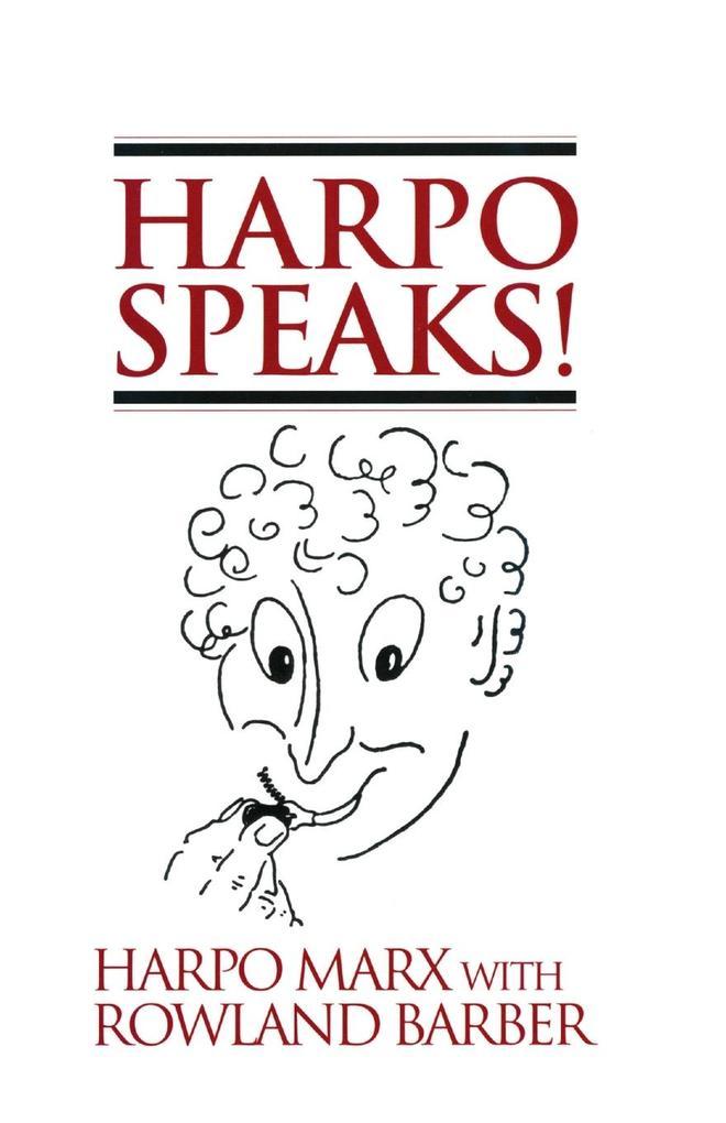 Harpo Speaks! als Taschenbuch