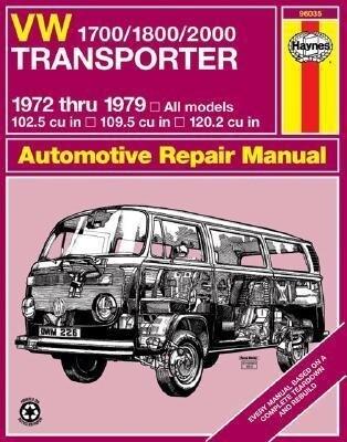 VW Transporter 1700, 1800 and 2000, 1972-1979 als Taschenbuch