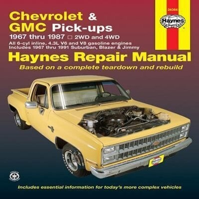 Chevrolet and G.M.C.Pick-ups Automotive Repair Manual als Taschenbuch