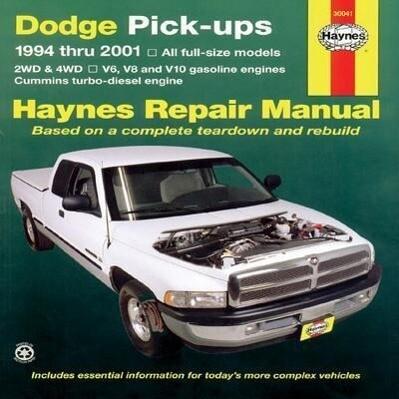 Dodge Full-Size Pickups, 1994-2001 als Taschenbuch