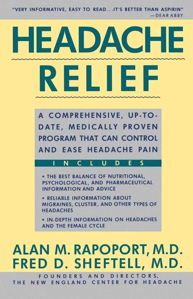 Headache Relief als Taschenbuch