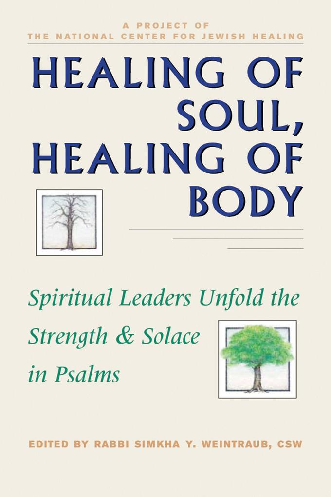 Healing of Soul, Healing of Body: Spiritual Leaders Unfold the Strength and Solace in Psalms als Taschenbuch