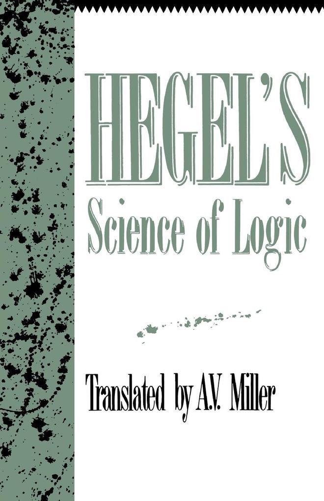 Hegel's Science of Logic als Taschenbuch