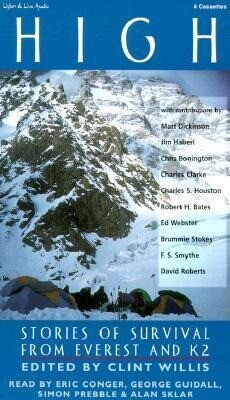 High: Stories of Survival from Everest and K2 als Hörbuch