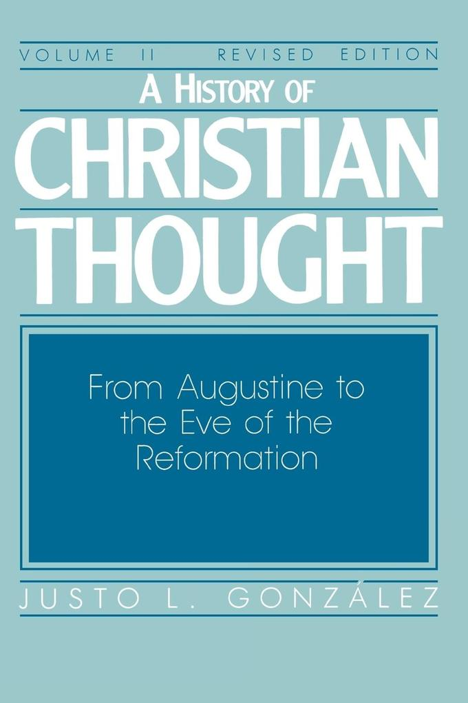 A History of Christian Thought Volume 2 als Taschenbuch