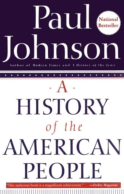 A History of the American People als Taschenbuch