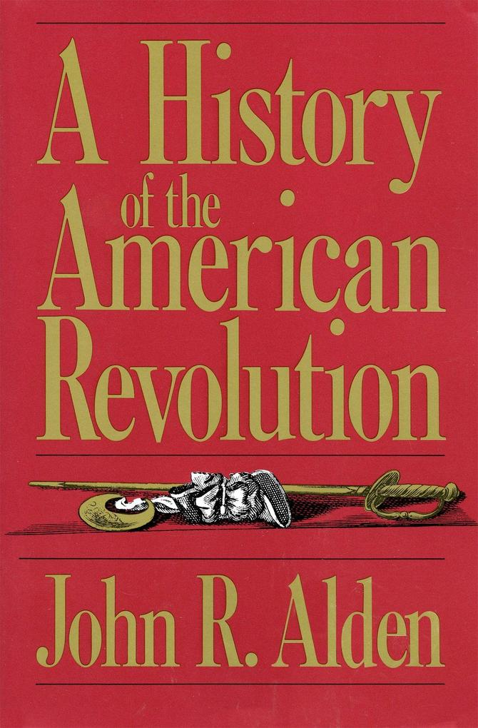 A History of the American Revolution als Taschenbuch