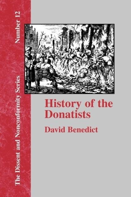 History of the Donatists als Taschenbuch