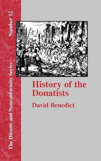 History of the Donatists als Buch