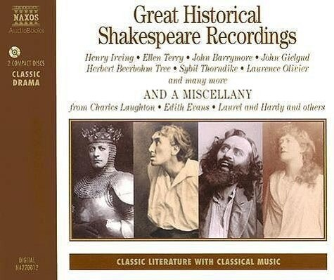 Great Historical Shakespeare Recordings als Hörbuch