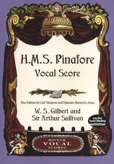 H.M.S. Pinafore Vocal Score als Taschenbuch